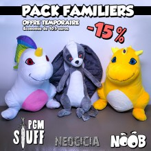 Pack Familiers x3